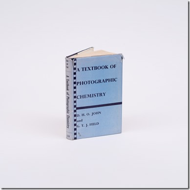 A Textbook of Photographic Chemistry
