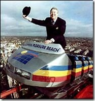 Geoffrey Thompson owner pleasure beach died 67 in 2004